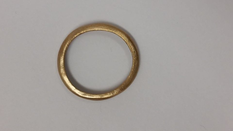 Bronze Ring, US Size 8