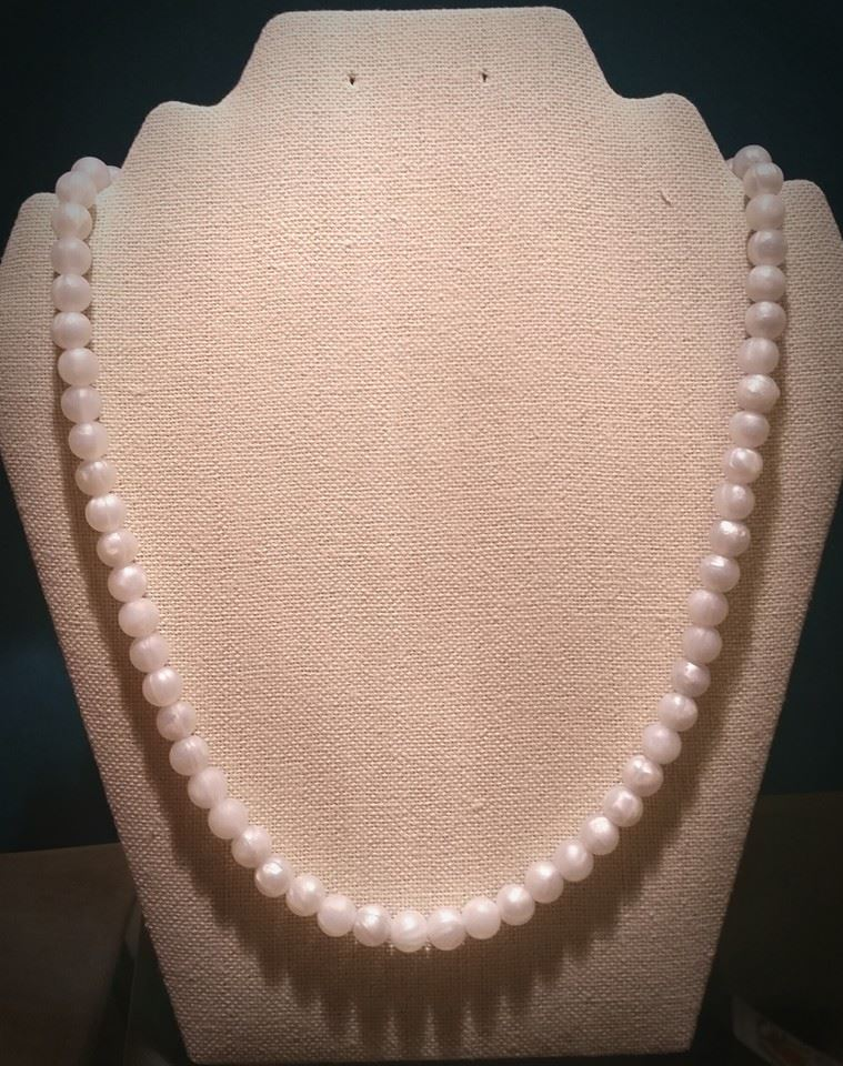 "SOLD! Silicone ""Pearl"" Teething Necklace"