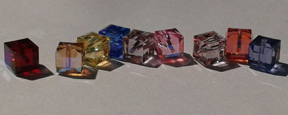 Color Options for Swarovski Crystal Rings